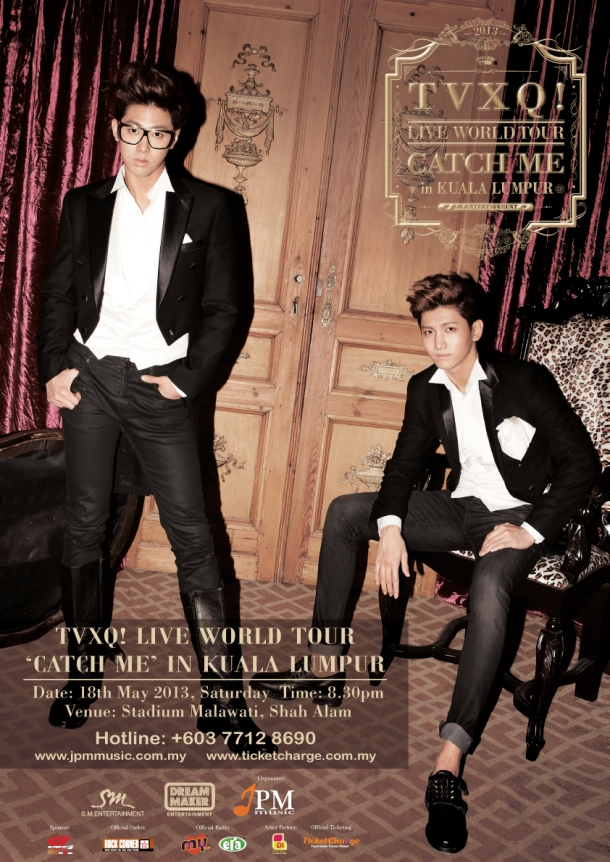TVXQ! Live World Tour Catch Me in KL_1