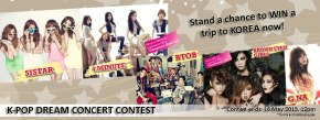 "[Contest] Watch ""K-Pop Dream Concert Live in Malaysia"" and Stand a Chance to Win a Trip to Korea!"