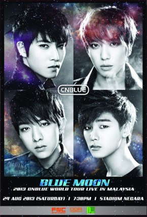 [INFO] CNBLUE : Blue Moon World Tour Live in Malaysia