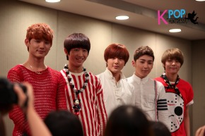 Press Conference: Dashing Princes A-PRINCE in Singapore