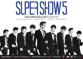 SUPER JUNIOR WORLD TOUR SUPER SHOW 5: Seating Plan & Ticketing Details