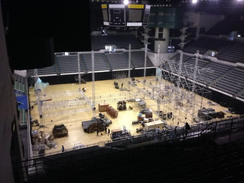 TVXQ! Catch Me Concert Stage Setup_1