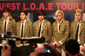 Press Conference: 2013 NU'EST L.O.Λ.E TOUR inSINGAPORE