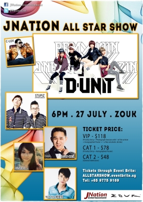 JNation All-Star Show 2013 in Singapore